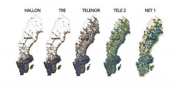 telenor mobilt bredband täckningskarta