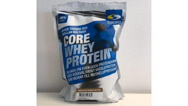 Core whey protein chocolate peanut butter
