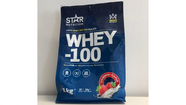 Star nutrition whey 100 strawberry