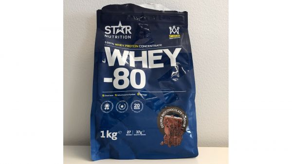 Star nutrition whey 80 double rich chocolate