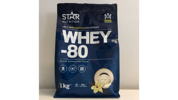 Star nutrition whey 80 vanilla