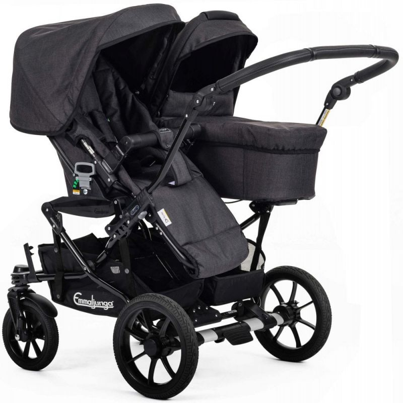 emmaljunga double viking 735 pushchair p27805 75276 image