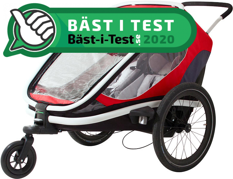 TEST: Bästa Cykelvagnen (2020) → 11 Expertbetyg (Bäst i