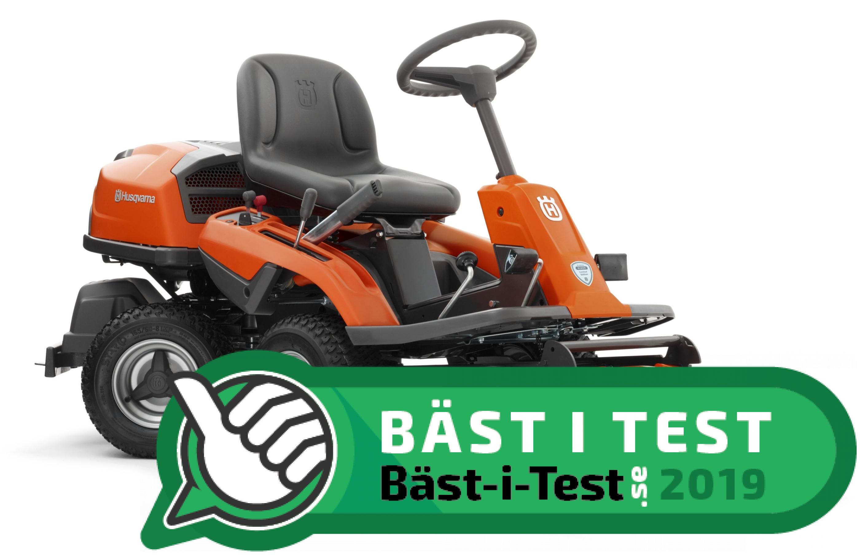 Toppen Åkgräsklippare / trädgårdstraktor: 10 modeller i test (2019 TT-96