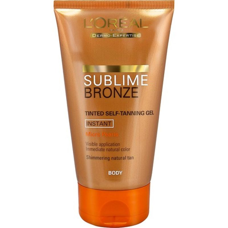 LOreal Sublime Bronze Self Tanning Gel 150 ml