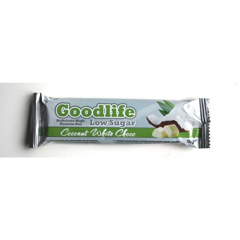 Goodlife Low Sugar Coconut White Chocolate