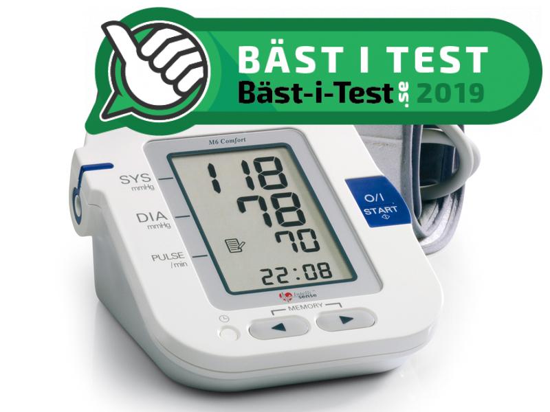 könig blodtrycksmätare test
