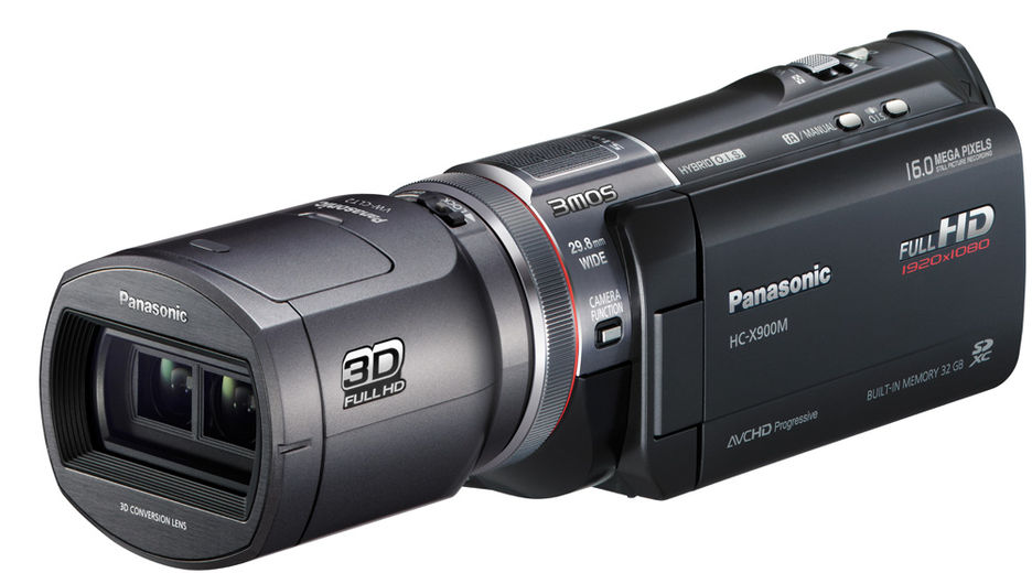 Panasonic HC-X900 + VW-CLT2