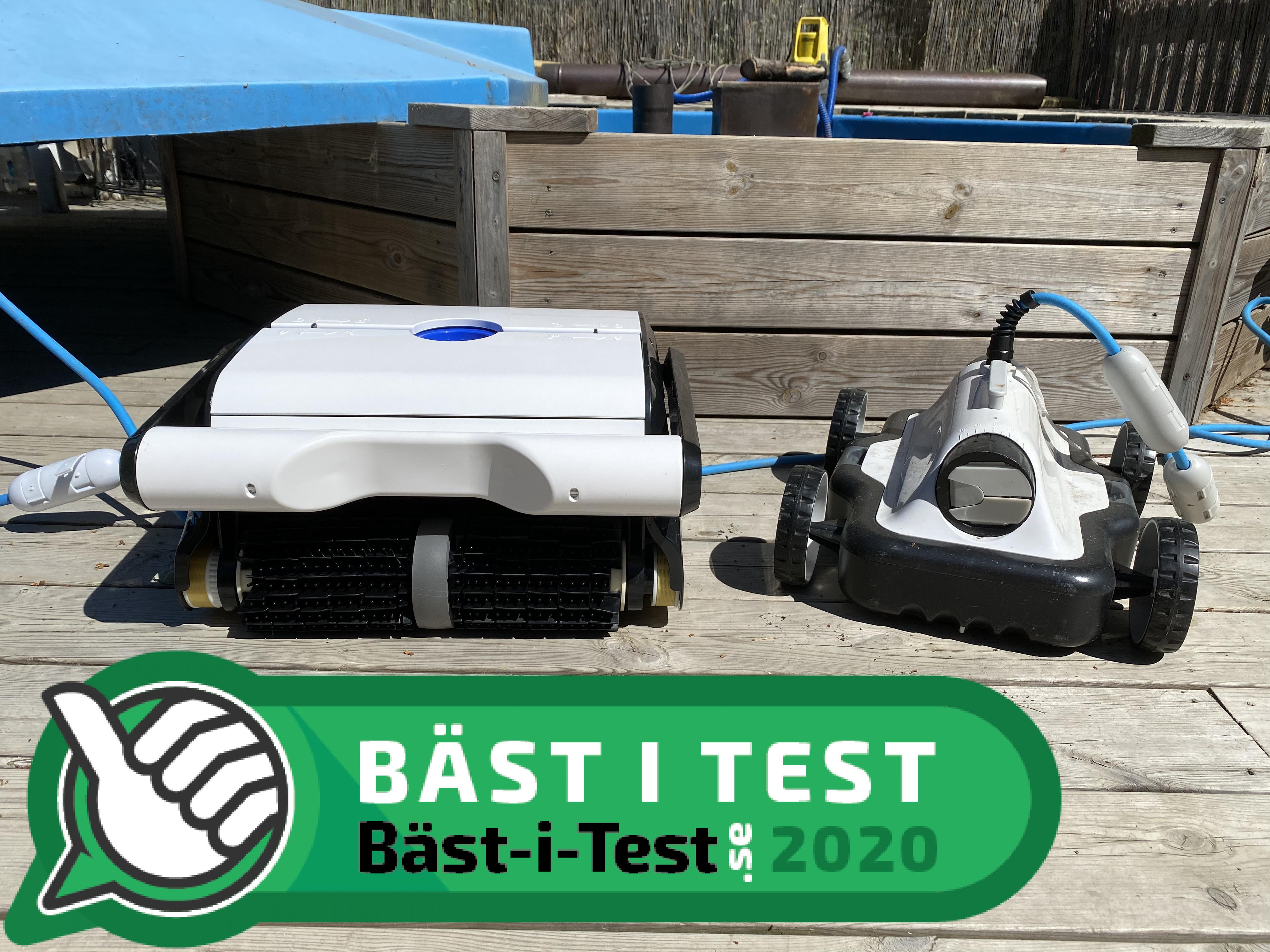 poolrobot bäst i test