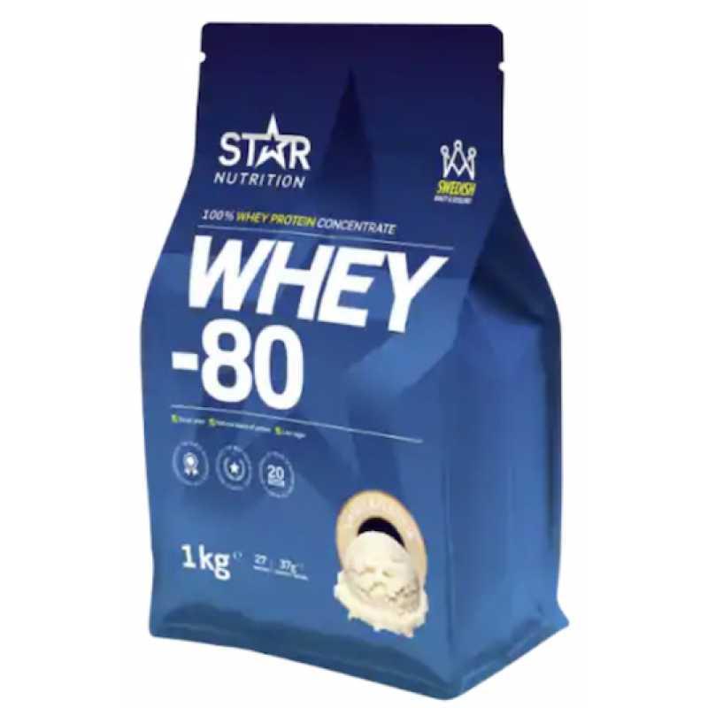 star nutrition whey 80 farligt