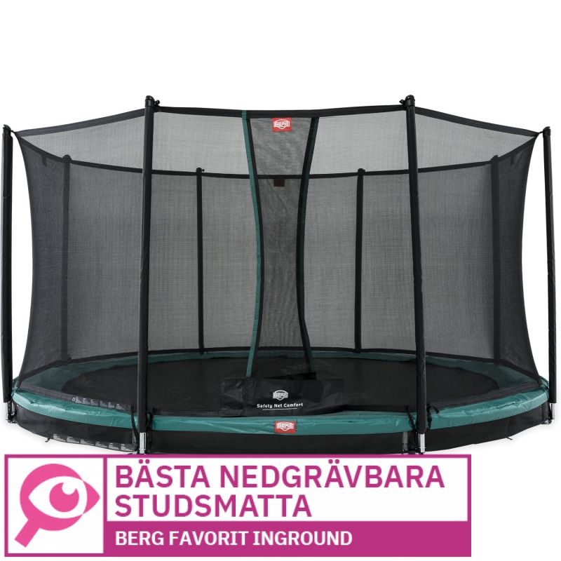 Berg Favorit InGround Comfort 330 cm 								 									- Bästa nedgrävbara studsmatta