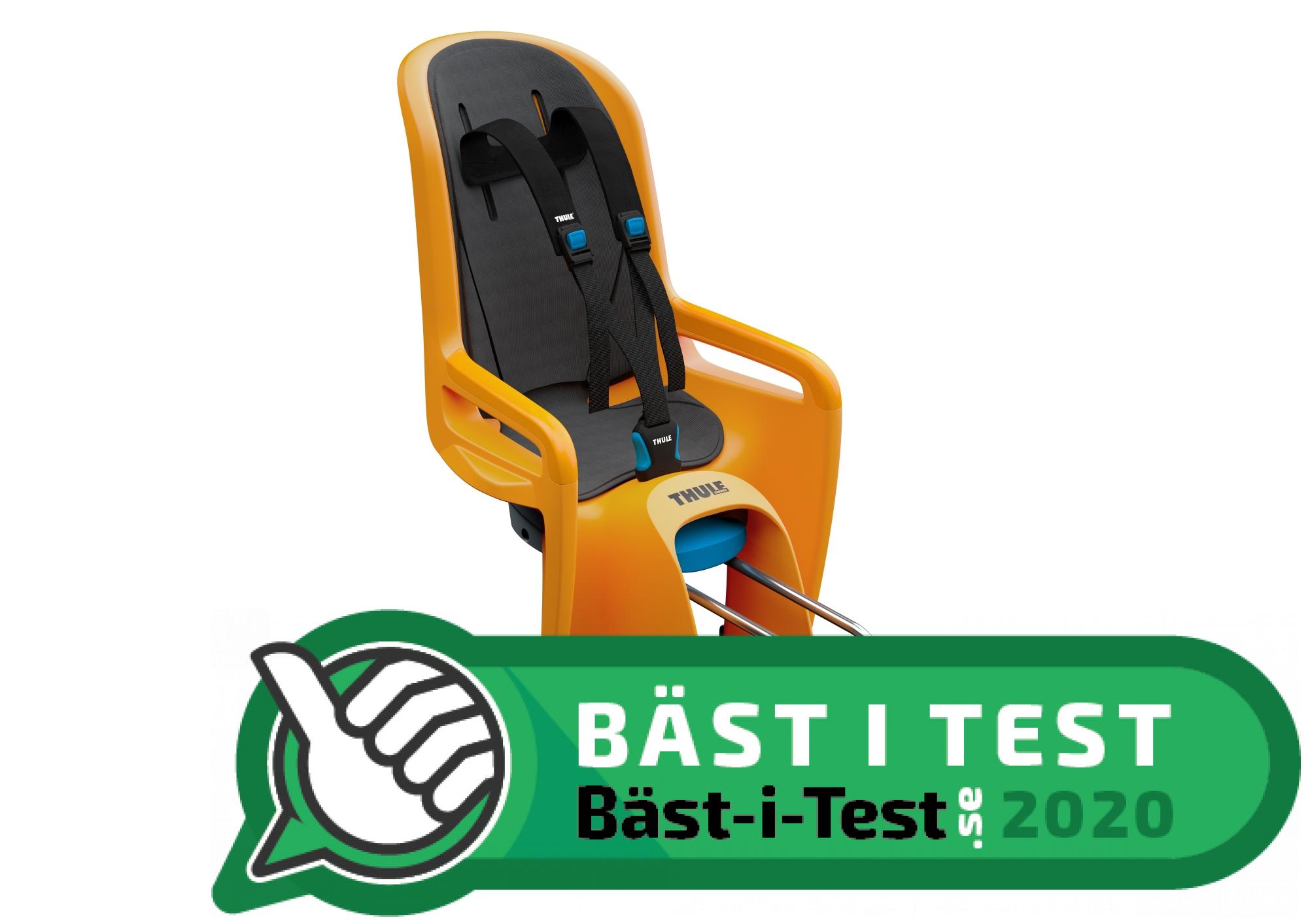 TEST: Bästa Cykelsitsen för Barn (2020) → 6 Expertbetyg