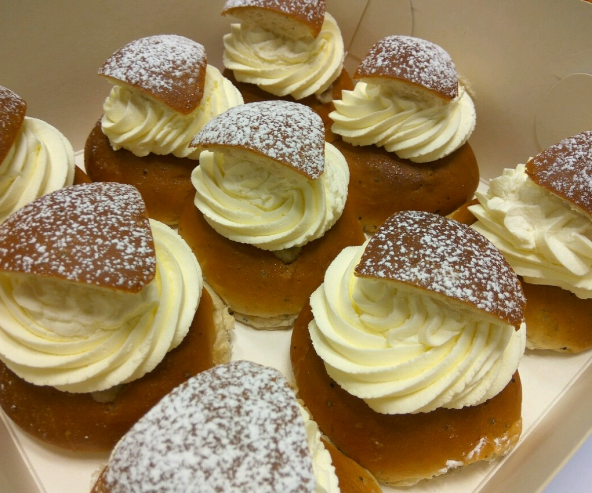 Test av Semlor i Goteborg 2017